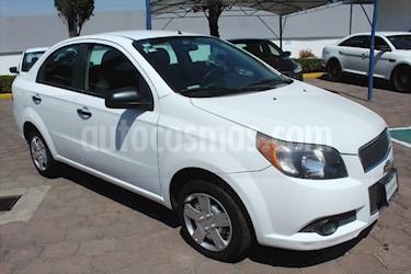 Chevrolet Aveo LS usado (2015) color Blanco precio $110,000