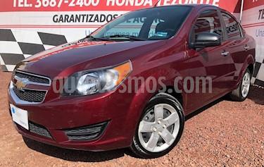 Chevrolet Aveo LT  usado (2019) color Rojo precio $149,000