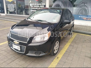 Chevrolet Aveo 4 pts. LT F MT usado (2016) color Negro precio $99,000