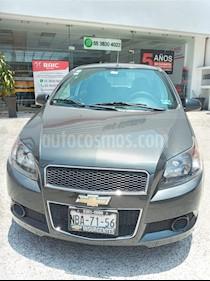Chevrolet Aveo LT usado (2017) color Gris precio $130,000
