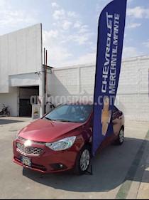 Chevrolet Aveo Paq C nuevo color Rojo precio $218,800