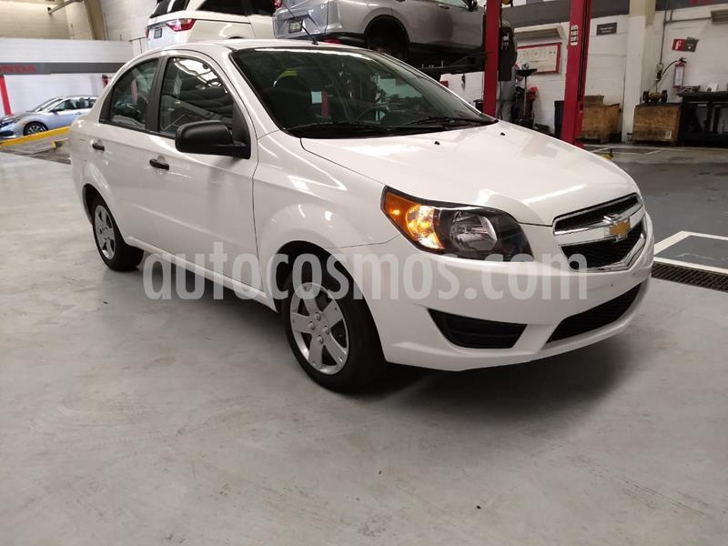 Chevrolet Aveo LS Aa usado (2018) color Blanco precio $145,000