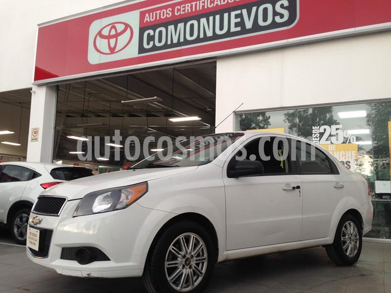 Chevrolet Aveo LT usado (2017) color Blanco precio $110,000
