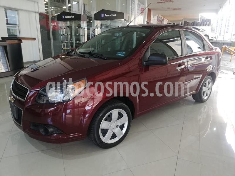 Chevrolet Aveo LT usado (2017) color Rojo precio $132,900