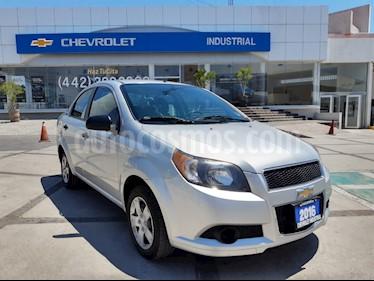 Chevrolet Aveo Paq M usado (2016) color Plata precio $119,000