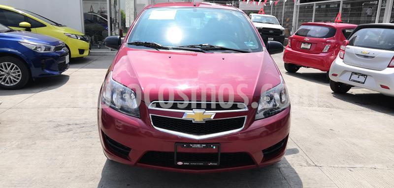 Chevrolet Aveo LS Aut usado (2018) color Rojo Victoria precio $132,000