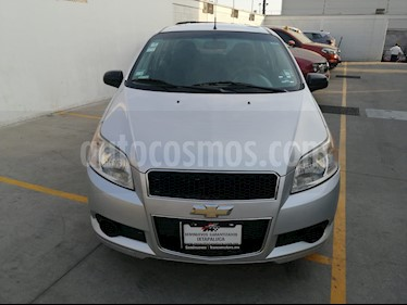 Chevrolet Aveo Paq B usado (2013) color Plata precio $105,000