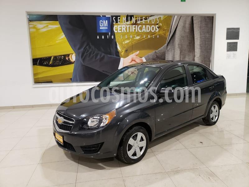 Chevrolet Aveo LS usado (2018) color Gris precio $128,000