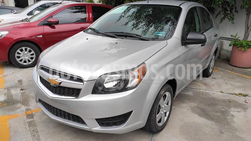 Chevrolet Aveo LS usado (2018) color Plata Brillante precio $125,900