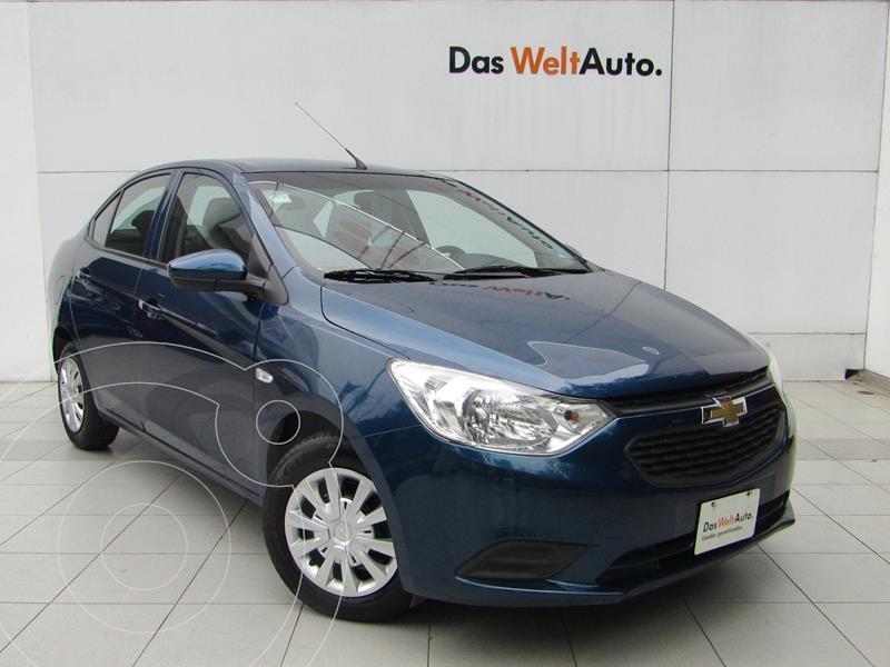 Foto Chevrolet Aveo LS Aut usado (2020) color Azul precio $189,000
