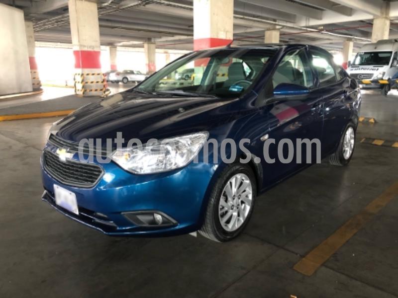 Chevrolet Aveo LT D AT usado (2020) color Azul precio $184,900