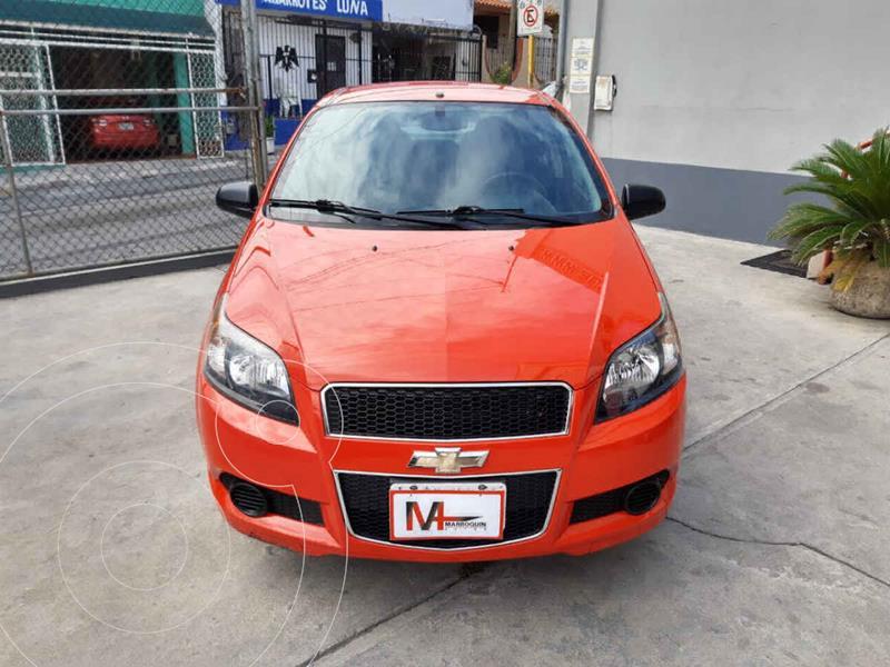 Foto Chevrolet Aveo LS Aa usado (2016) color Rojo precio $119,000