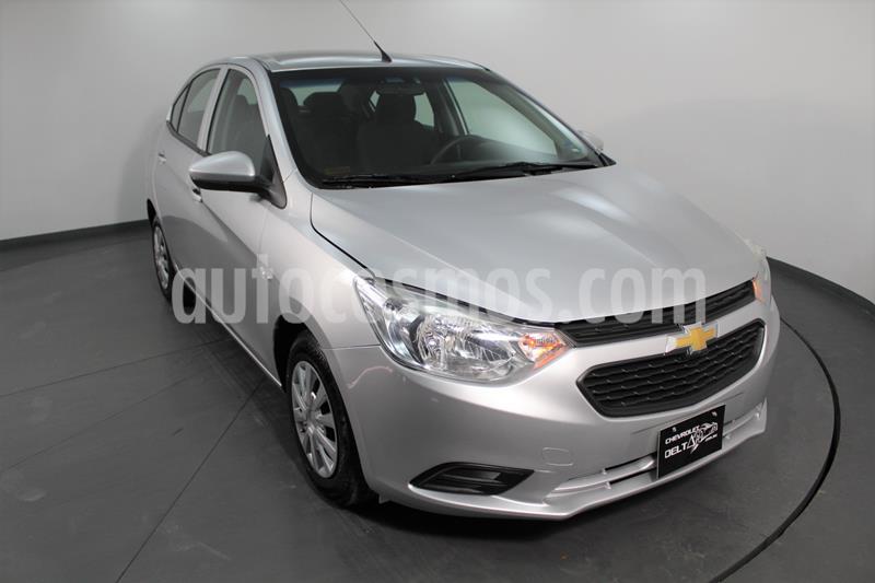 Chevrolet Aveo LS usado (2019) color Plata Brillante precio $151,900