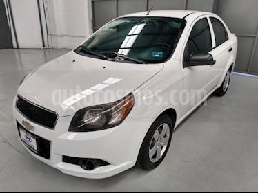 Chevrolet Aveo 4P LS L4/1.6 AUT usado (2013) color Blanco precio $100,000