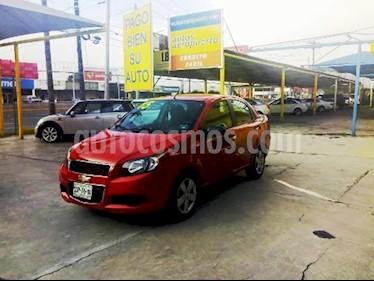 Chevrolet Aveo LS Aut usado (2015) color Rojo precio $125,000