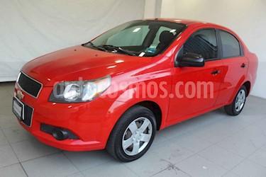 Chevrolet Aveo 4 pts. A LS Manual usado (2013) color Rojo precio $99,000