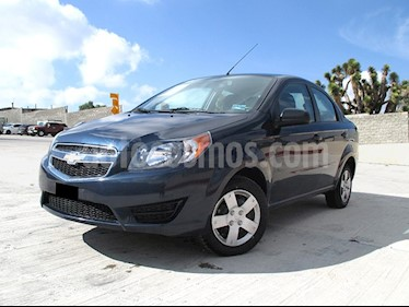 Chevrolet Aveo LS usado (2018) color Azul Acero precio $159,000
