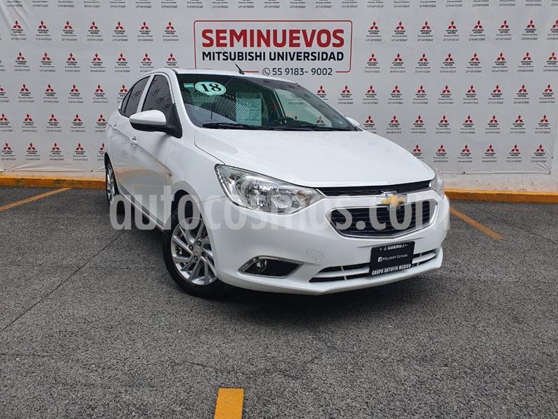 Chevrolet Aveo LTZ usado (2018) color Blanco precio $170,000