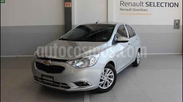 Chevrolet Aveo LTZ usado (2018) color Plata precio $185,000