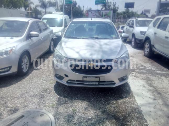 Chevrolet Aveo 4P LT L4/1.5 AUT. LINEA NUEVA usado (2018) color Plata precio $290,000