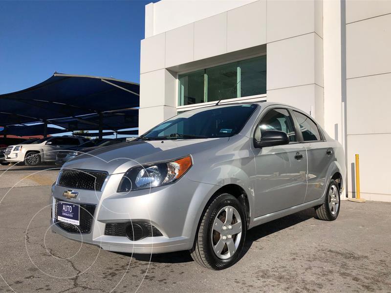 Chevrolet Aveo LS Aa usado (2015) color Plata Dorado precio $110,000