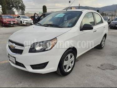 Chevrolet Aveo 4P LT AT A/AC. VE BA ABS R-15 usado (2017) color Blanco precio $145,000