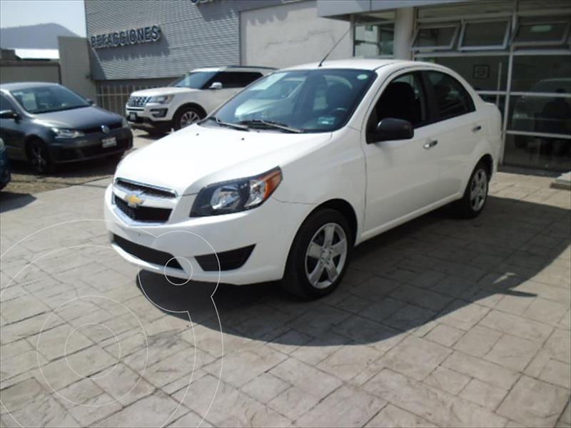 Chevrolet Aveo LT usado (2018) color Blanco precio $157,000