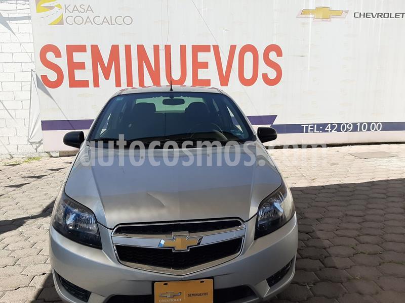 Chevrolet Aveo LS usado (2017) color Plata Dorado precio $138,000