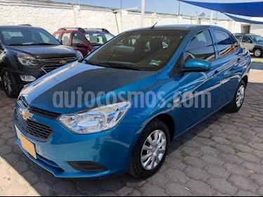 Chevrolet Aveo 4P LS AT A/AC. R-14 usado (2019) color Azul Marino precio $185,000