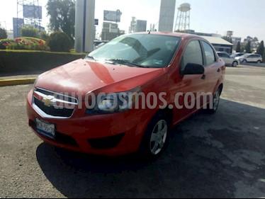 Chevrolet Aveo LS Aa usado (2017) color Rojo precio $149,000