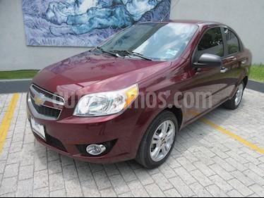 Foto Chevrolet Aveo LTZ Aut usado (2017) color Rojo precio $146,000