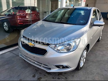 Chevrolet Aveo LTZ Aut usado (2018) color Plata precio $157,800