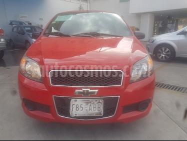 Chevrolet Aveo LS usado (2015) color Rojo precio $99,000