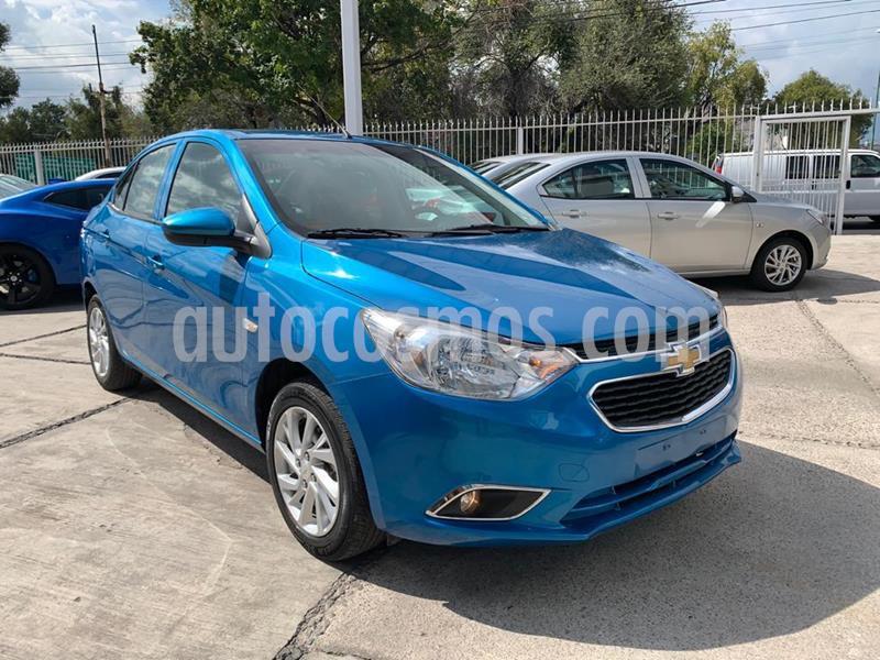 Chevrolet Aveo Paq E usado (2019) color Azul precio $185,000