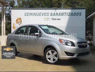 Chevrolet Aveo LT usado (2018) color Plata precio $160,000
