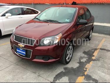 Chevrolet Aveo LT Aut usado (2015) color Rojo Tinto precio $128,000