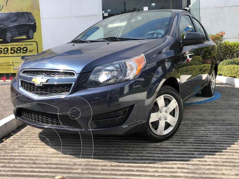 Chevrolet Aveo LS usado (2018) color Azul precio $138,000