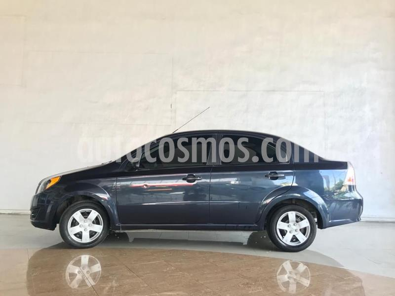 Chevrolet Aveo LS usado (2018) color Azul Acero precio $128,000