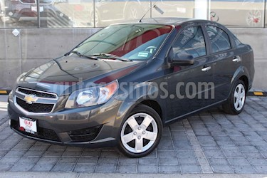 Chevrolet Aveo LT usado (2017) color Gris precio $155,000