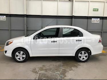 Chevrolet Aveo 4P LS L4/1.6 AUT. LINEA NUEVA usado (2017) color Blanco precio $140,000