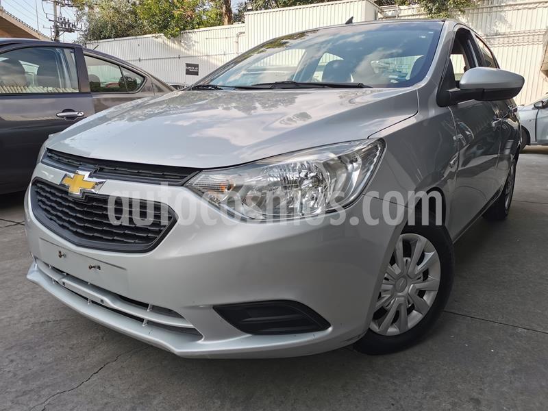 Foto Chevrolet Aveo LS usado (2018) color Plata Brillante precio $160,000