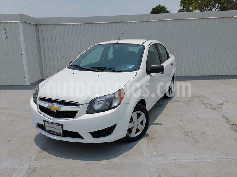 Chevrolet Aveo LS Aa usado (2018) color Blanco precio $130,000
