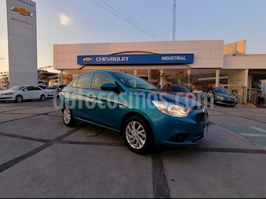 Chevrolet Aveo LT Bolsas de Aire y ABS (Nuevo) usado (2019) color Azul Metalico precio $199,000