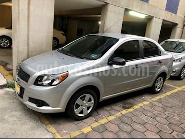 Chevrolet Aveo LS usado (2017) color Plata Brillante precio $115,000