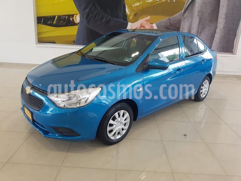 Chevrolet Aveo LS usado (2018) color Azul precio $162,120