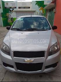 Chevrolet Aveo LT usado (2016) color Plata Brillante precio $110,000