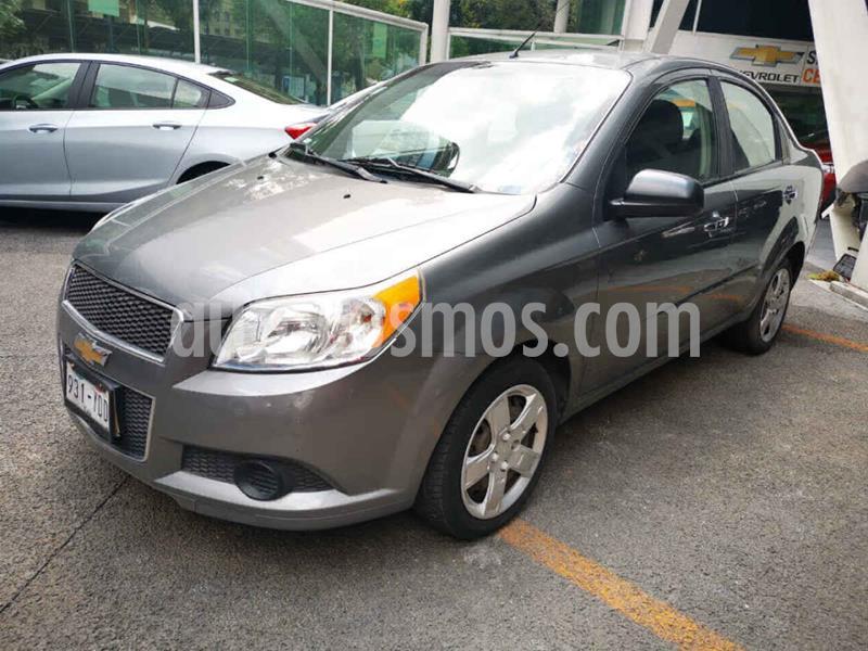 Chevrolet Aveo Paq C usado (2012) color Gris precio $94,000