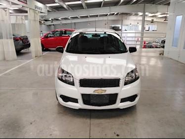 Chevrolet Aveo 4P LT L4/1.6 AUT usado (2017) color Blanco precio $150,000