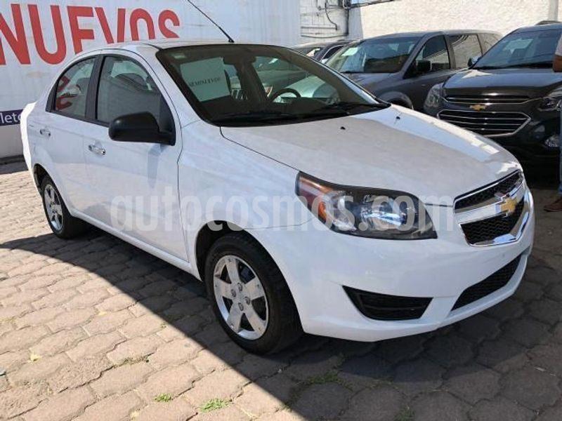Chevrolet Aveo LT Aut usado (2018) color Blanco precio $154,000