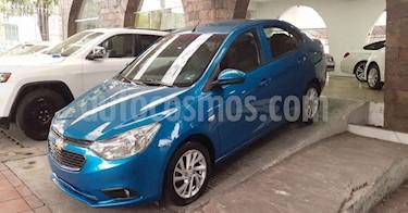Chevrolet Aveo 4p LT L4/1.5 Aut usado (2019) color Azul precio $149,900